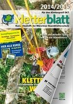 Cover Kletterblatt 2014