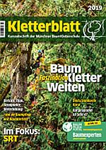 Cover Kletterblatt 2019