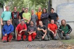 Mit Respekt vor den Opfern - Baumpflege in Gurs, Frankreich