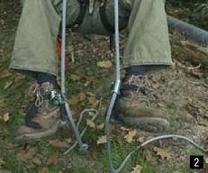 Tree Walking: Fußsteigklemmen