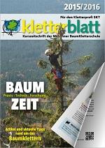 Cover Kletterblatt 2015