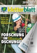 Cover Kletterblatt 2016