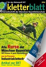 Cover Kletterblatt 2006