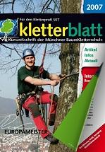 Cover Kletterblatt 2007
