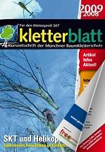 Cover Kletterblatt 2008