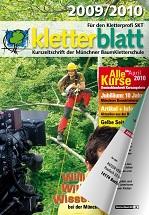 Cover Kletterblatt 2009