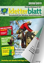 Cover Kletterblatt 2010