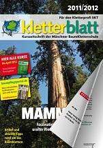 Cover Kletterblatt 2011